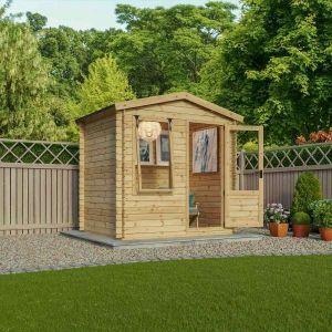 Mercia Studio Log Cabin 2.5m x 2m