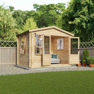 Mercia Studio Log Cabin 3.3m x 3m
