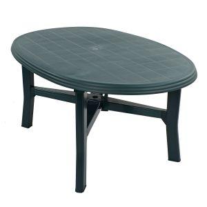 Teramo Green 6-Seater Table
