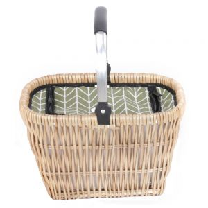 Lifestyle Natural Wicker Basket with Cool Bag
