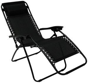 Royalcraft Black Zero Gravity Relaxer Chair