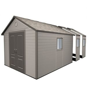 Lifetime Heavy Duty Plastic Shed 11x21