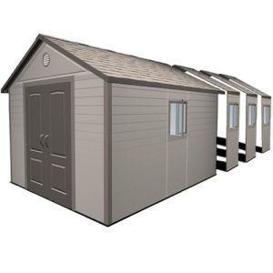 Lifetime Heavy Duty Plastic Shed 11x26