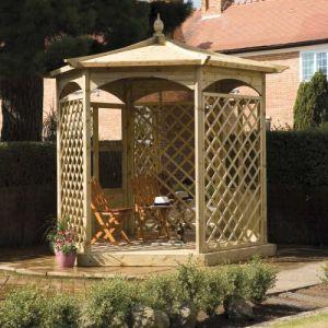 Grange Brettenham Gazebo Hexagonal Dressed A