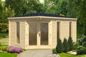 Edinburgh 240 Log Cabin 40mm 4.48m x 2.8m