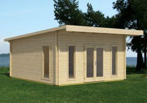 Barbados 5 Log Cabin