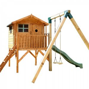 Mercia Tulip Tower Playhouse and Activity Set