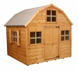 Dutch Barn Style Playhouse 6ft x 6ft