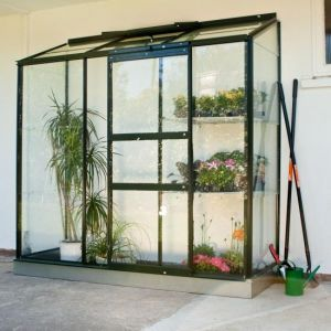 Wall Garden Lean-To 6x2 Greenhouse