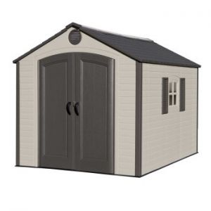 Lifetime Heavy Duty Plastic Shed Special Edition 8x10