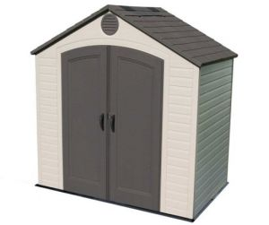 Lifetime Heavy Duty Plastic Shed 8x5