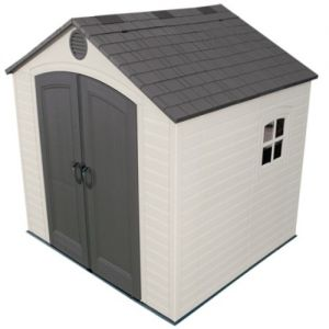 Lifetime Heavy Duty Plastic Shed 8 x 7.5