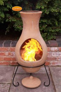 Gardeco Large Elements Air Clay Chiminea
