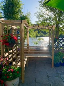 Forest Sorrento Arbour - customer photo - thank you Heather