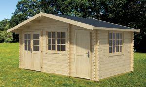 Borkum Log Cabin 40mm 4.85 m x 3m