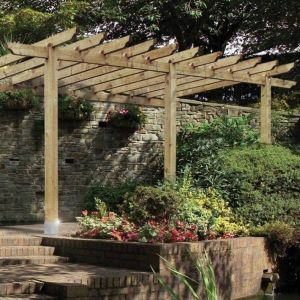 Grange Grange Burleston Lean-To/Car Port Pergola Pack A