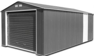 Olympian Garage Anthracite 12x20