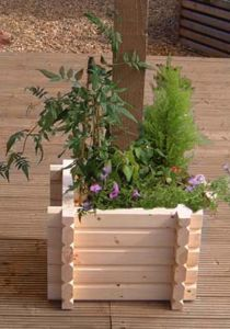 Buildround 36x36 sq planter