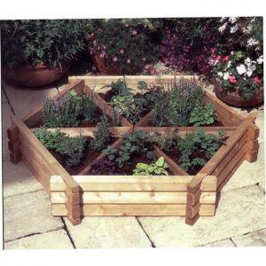 Medium Herb Wheel Planter