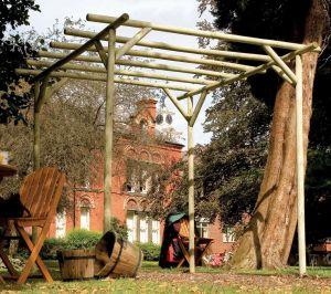 Grange Cottingham Pergola