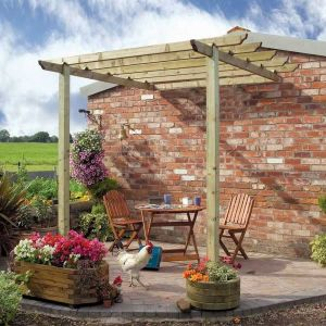 Grange Hemmingford Patio Pergola Pack A