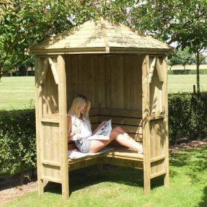 Shire Honeysuckle Corner Arbour 4x4