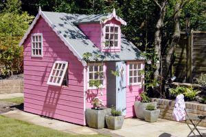 Shire Cottage Playhouse 6x8 (not supplied painted - image supplied by a customer)