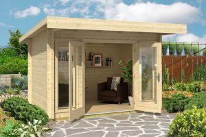 Barbados Mini Log Cabin