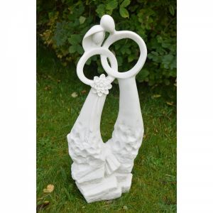 Just Married Statue White