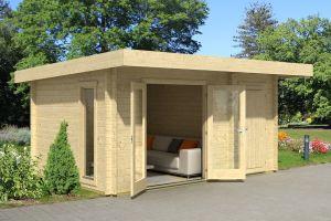 Chameleon Log Cabin 44mm 4.5m x 3m