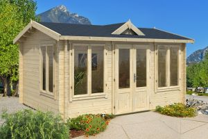 Windsor 44 Log Cabin 44mm 4m x 3m