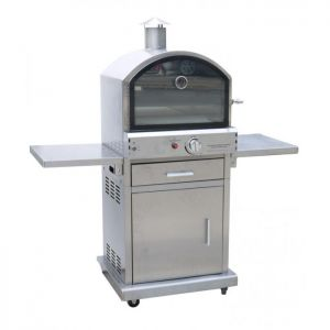 Lifestyle Milano Deluxe Stainless Steel Pizza Oven