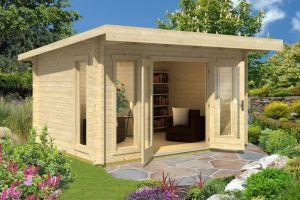 Barbados 3 Log Cabin