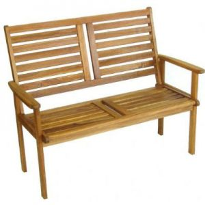 Royalcraft Hardwood Napoli 2 Seater Garden Bench