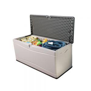 Lifetime 300 Litre Plastic Outdoor Storage Box