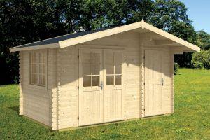 Borkum 2 Log Cabin 40mm 3.9m x 3m