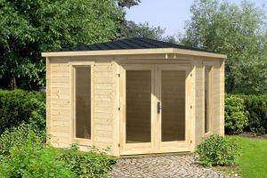 Edinburgh 140 Log Cabin 40mm 2.8m x 2.8m