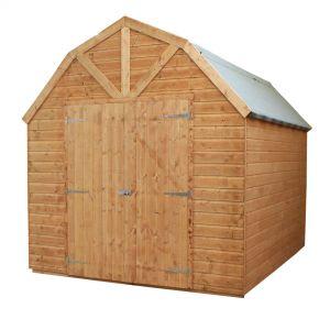 Mercia Shiplap T&G Dutch Barn Style Shed 10x8