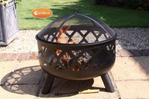Gardeco Tara Deep Drawn Steel Fire Bowl