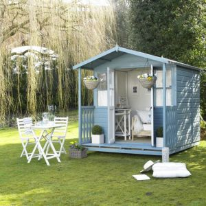 Shire Houghton Summerhouse 7x7 (not supplied painted)