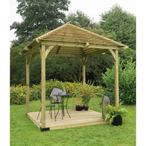 Forest Venetian Pavilion With Decking
