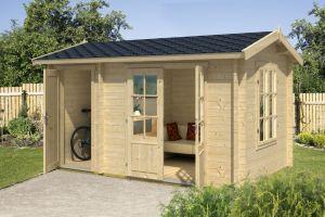 Wrexham 1 Log Cabin 44mm 3.9m x 2.4m