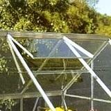 Silver Aluminium Roof Vent for 6' Wide Popular/Supreme