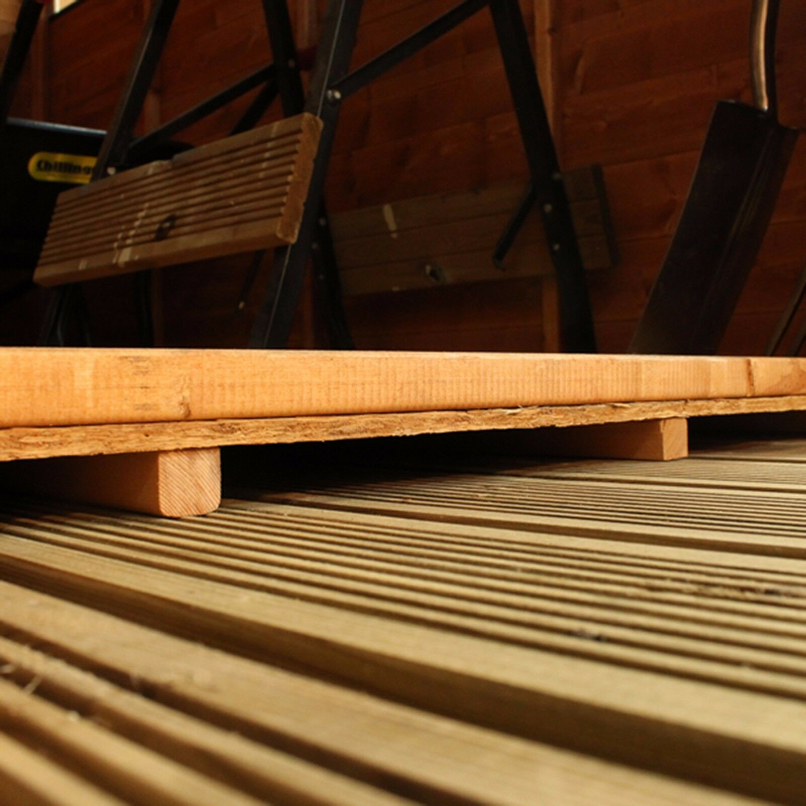 Extra Strength Floor Support Pack - Up to 16ft (Pressure Treated)