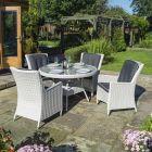 Prestbury 4-Seater Wicker Dining Set
