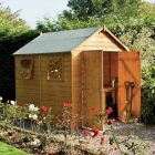 Rowlinson Premier Wooden 8x6 Shed