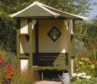 Haven Corner Arbour (not supplied painted)