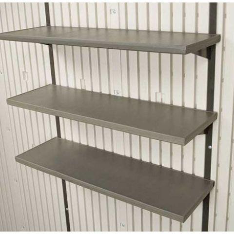 Set of 3 Shelves for Lifetime Sheds