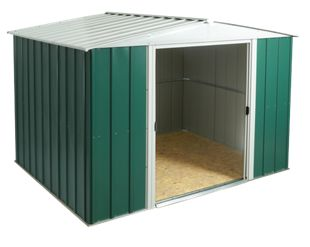 Greenvale Metal Apex Shed 10x8 OSB Floor