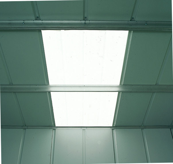 Skylight for 10' fronted Apex Shed